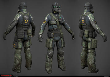 CELL Sniper low-res model by Bogdanbl4