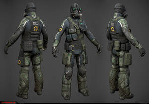 CELL Sniper low-res model
