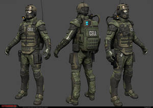 CELL Trooper low-res model