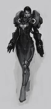Female Juggernaut Concept