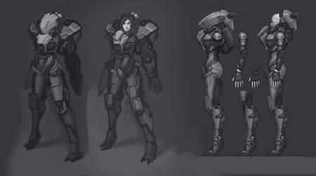 Cyborg Shark concept