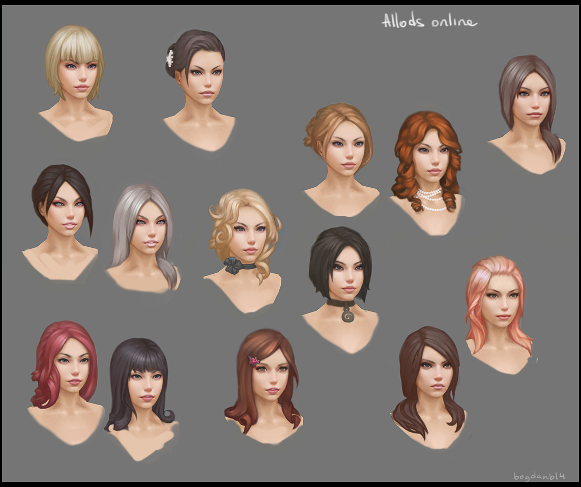 Character customization by Bogdanbl4