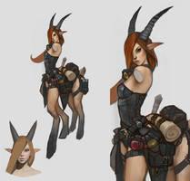Centaur Alchemist draft by Bogdanbl4