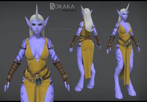 Soraka wip Rendertest by Bogdanbl4