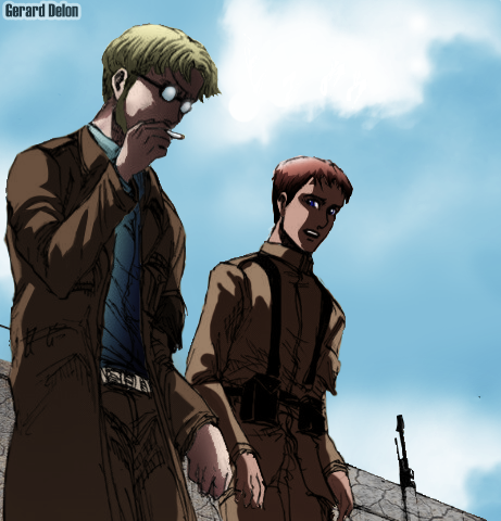 attack on titan chapter 93 (zeke) by gerard-delon