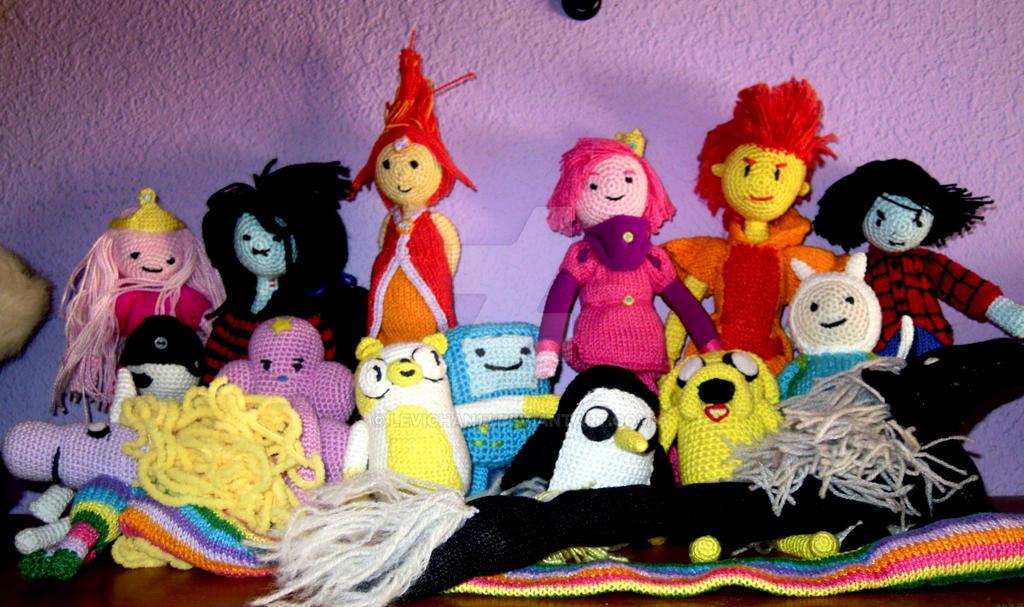 Amigurumi - Adventure time cast by levichan17 on DeviantArt