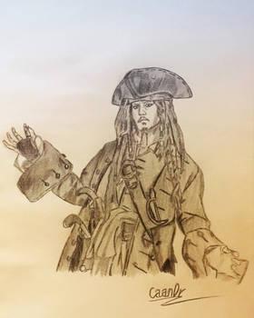 Captain Jack Sparrow (Johnny Depp)