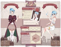 PROJECT REVELATION APP : Laila Annwn by poro-owo