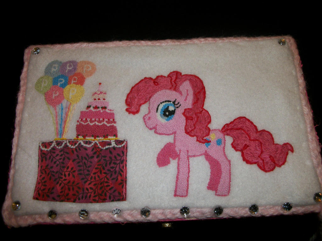Pinkie Pie Treasure Chest by grandmoonma