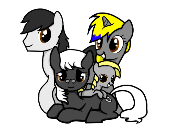 Grandmoonma Family Portrait by PenadoxBlackmoon