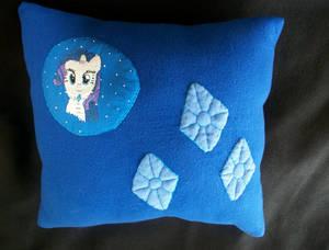 Rarity handmade winter plush pillow