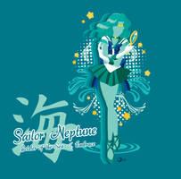 Super Sailor Neptune T-Shirt Design by Sigma-Astra