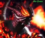 Dmc 5 Dante Devil triger by MaxGreenKiki