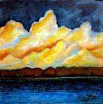 'Sun Set at Otter Isle'