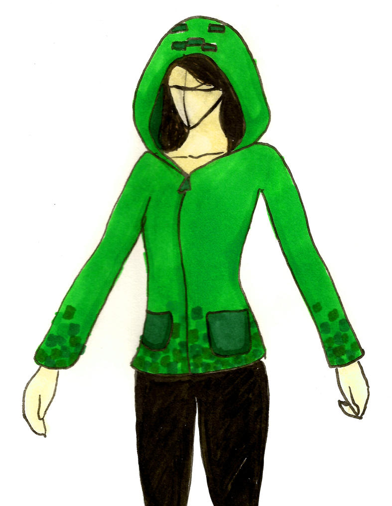 creeper hoodie minecraft skins