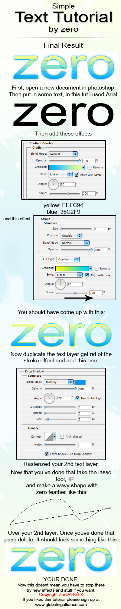 Cool Text by ZerOwnage
