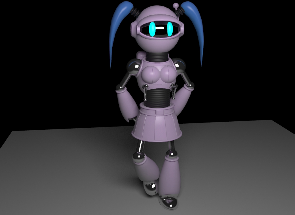 Fem Bot by KiraraChaffe