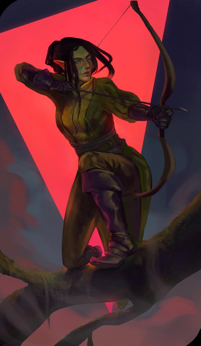 Archer by Tutuja