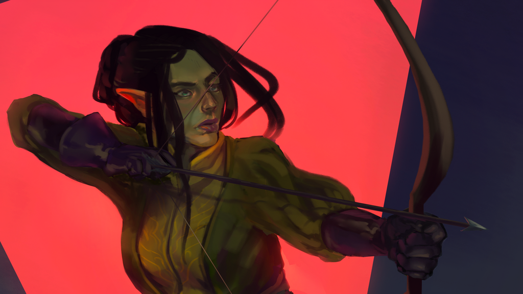 Archer details by Tutuja