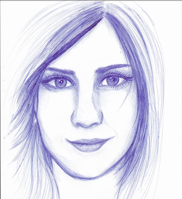 Pen sketch by Naiengele
