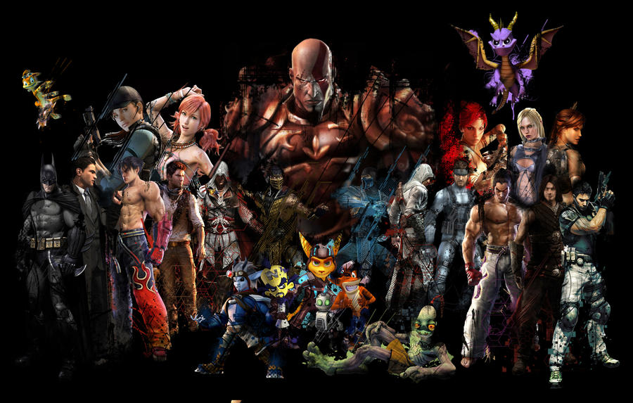 playstation 3 collage by ereeen on deviantart