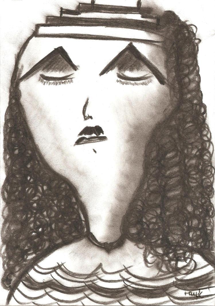 sorrowful moustache by babilo