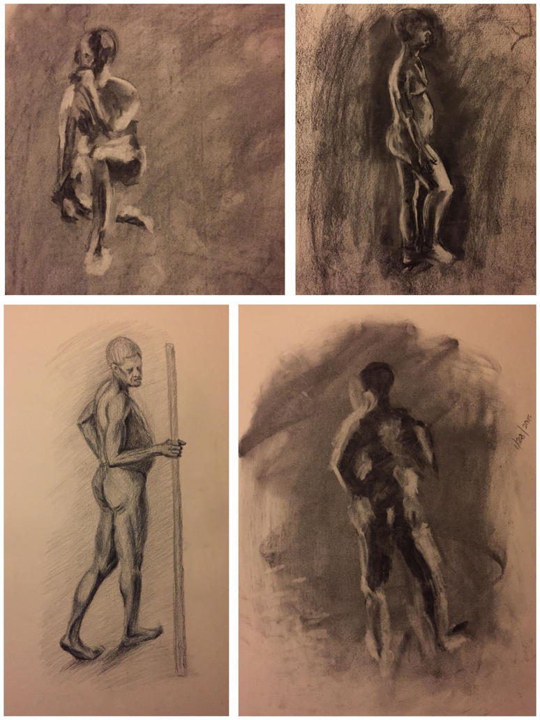 Figure drawing  by roxanac