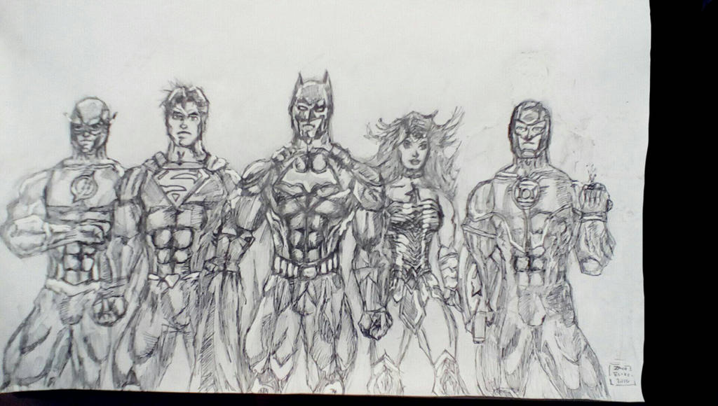 DC Rebirth  by Arrow217