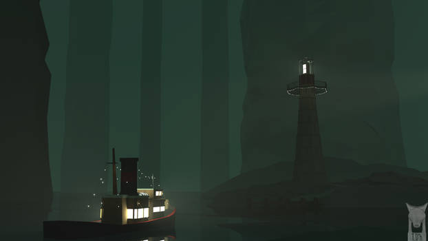 Low Poly - Lighthouse