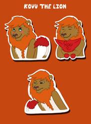 Kovu the Lion Telegram Sticker Pack by Scott04069418