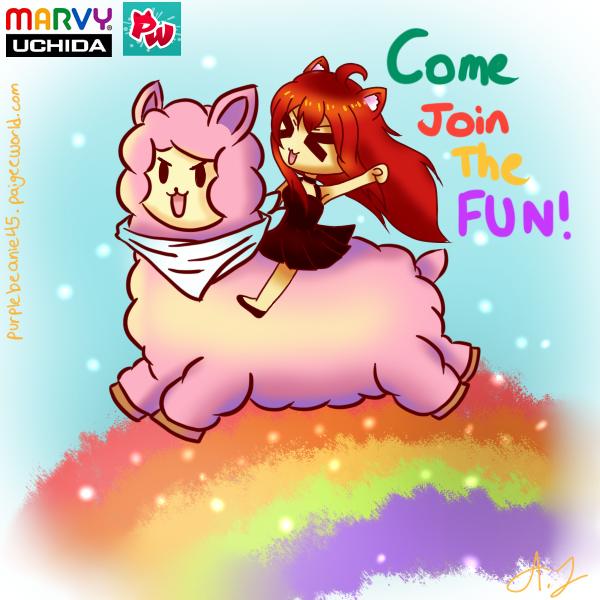 Team Nyan 2nd entry by Shiroi-Hana-01