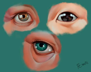 eyes study #1 by lite33