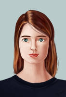 portrait study #2 by lite33