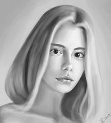 portrait study #5 by lite33