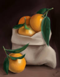 oranges study by lite33