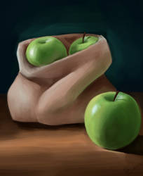 apples study by lite33