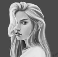portrait study #7 by lite33