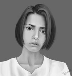 portrait study #8 by lite33