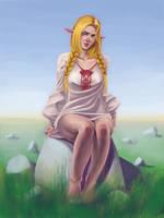 slavic elf by remote333