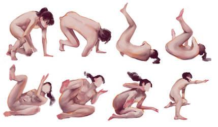 pose studies #1