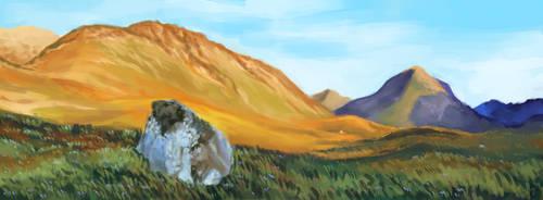 landscape sketches #38