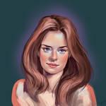 portrait study #70
