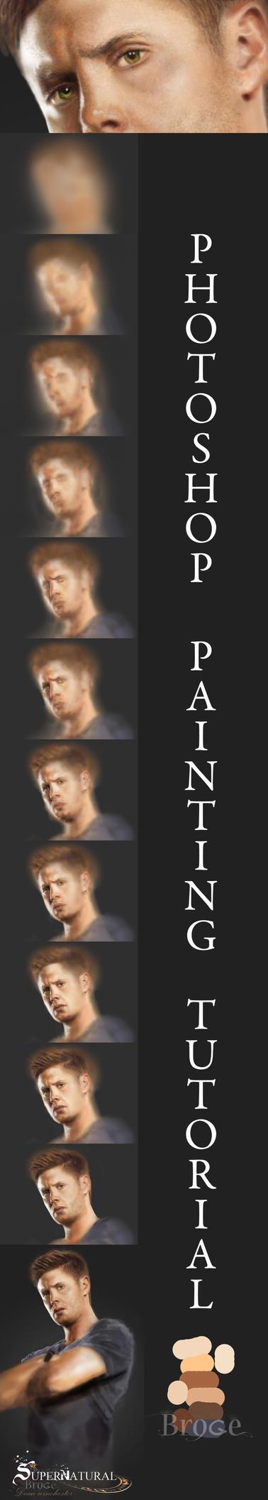 portre yapımı -jensen ackles-