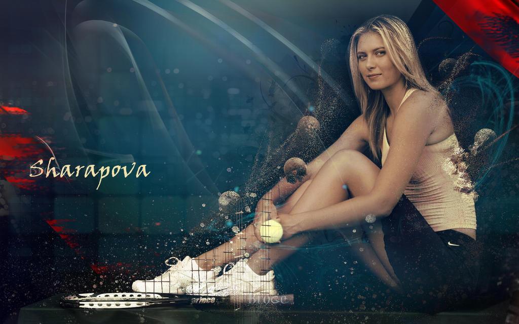 sharapova by ahmetbroge