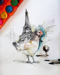 paris and chicken