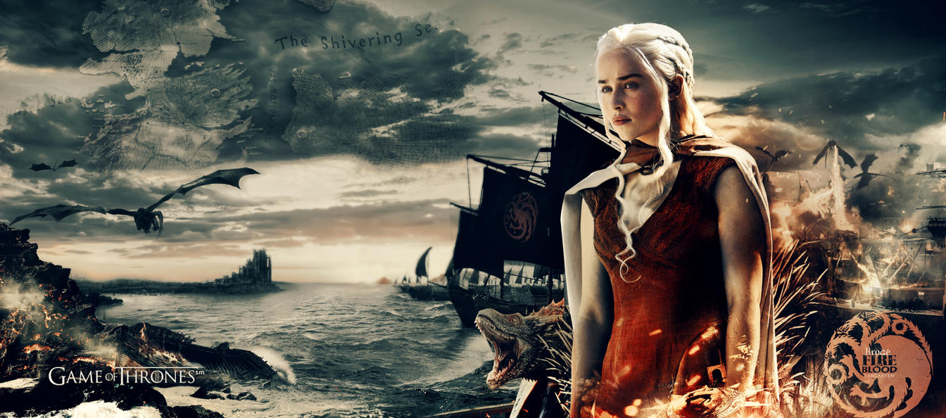Game Of Thrones Khaleesi Wallpaper By Ahmetbroge