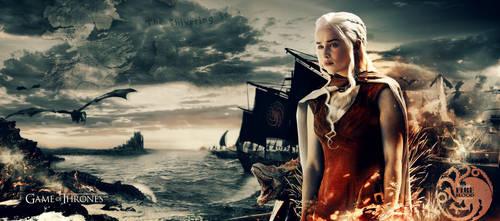 Game of Thrones khaleesi wallpaper by ahmetbroge