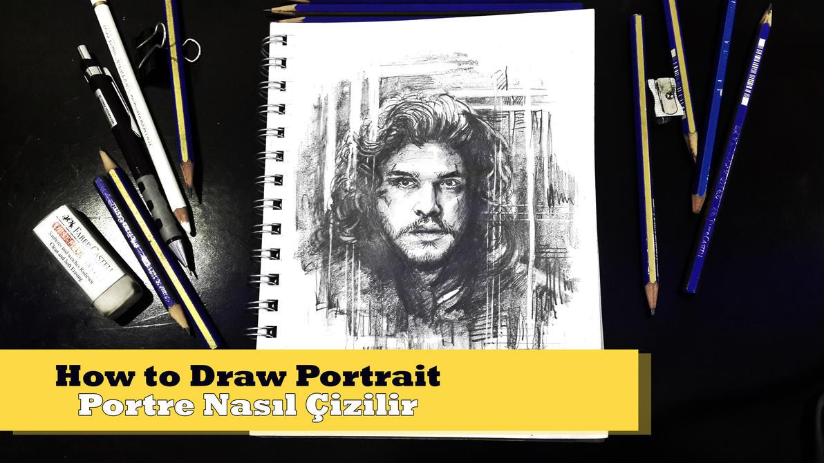 portre nasıl yapılır (video)jon snow (yapım aşaması)