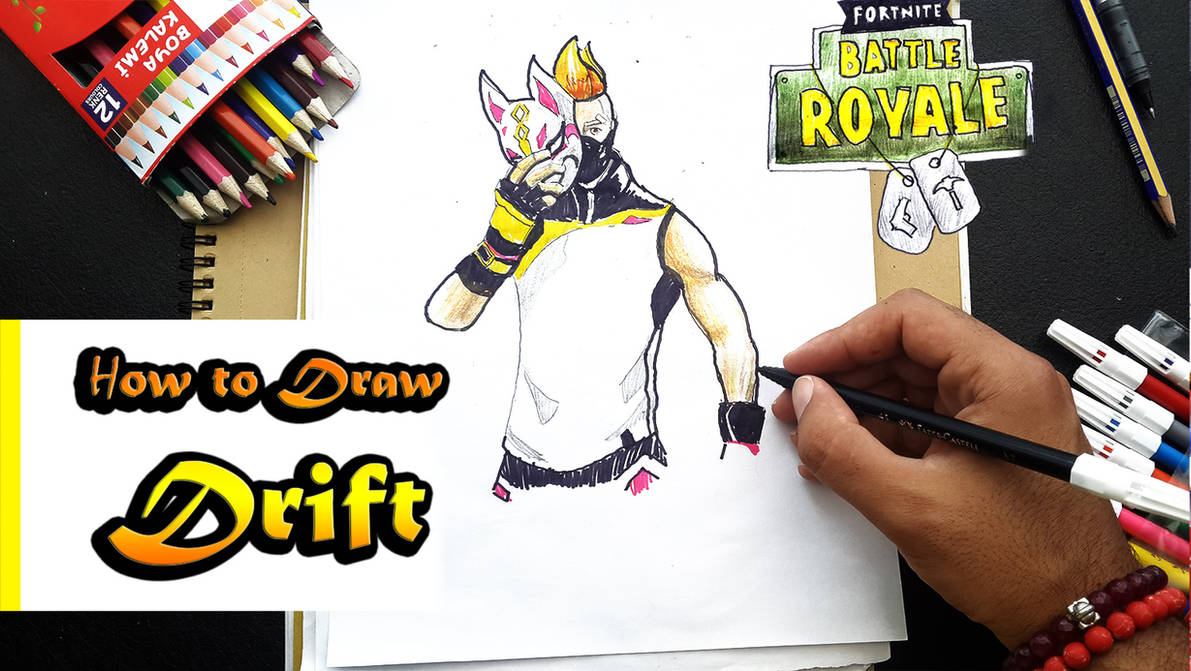 How To Draw Drift Fortnite By Ahmetbroge On Deviantart