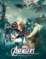 Avangers Marvel poster